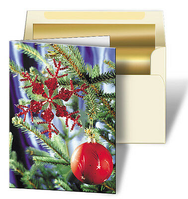 Holiday Christmas Ornament Toys Greeting Card 3D Lenticular #GC-980#