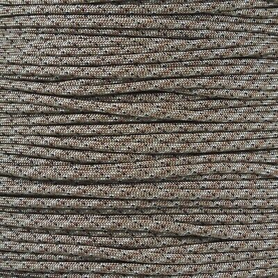 Desert Digital Camo 550-LB Paracord Type III 7 strand cord 100 ft Woven Tan