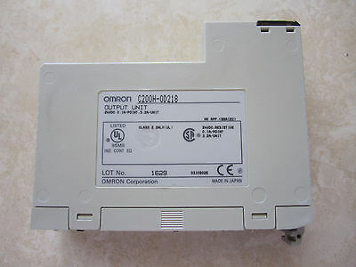 Omron C200H-OD218 PLC Output Module 24VDC 0.1A/Point 3.2A/Unit MADE in JAPAN