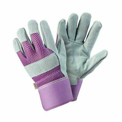 Briers Rigger Tough Leather Garden Gardening Gloves ~ Medium ~ Large