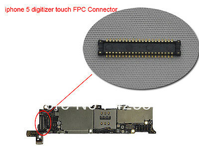 iPhone 5 LCD touch/ digitizer FPC Connector,on motherboard part