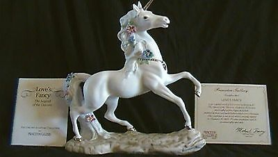 princeton gallery love's fancy unicorn limited edition