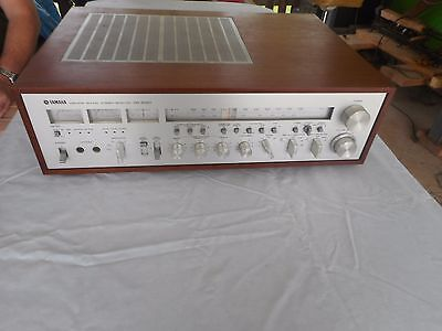 Vintage YAMAHA Stereo AM FM Receiver CR 2020 For Parts Or Repair ONLY