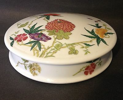 Raynaud & Co Limoges Ceralene Dioraflor Round Covered Serving Bowl Dish RARE