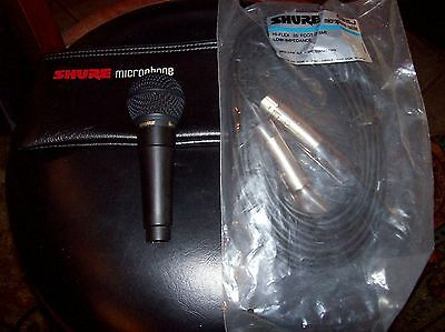 Shure Professional SM78 Dynamic Microphone Compact Starmaker w/ 25' Cable/Case