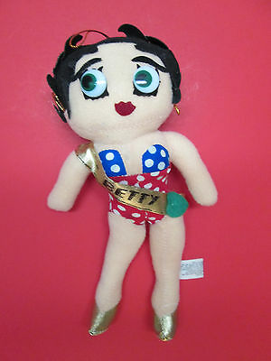 """1983 Betty Boop 9"""" Doll King Features Contestant"""