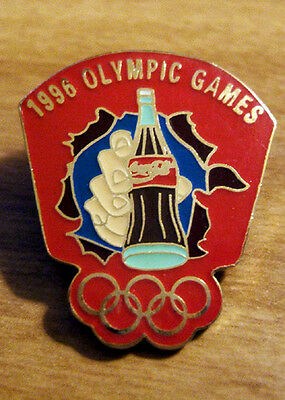 1996 OLYMPIC GAMES - COCA-COLA PIN