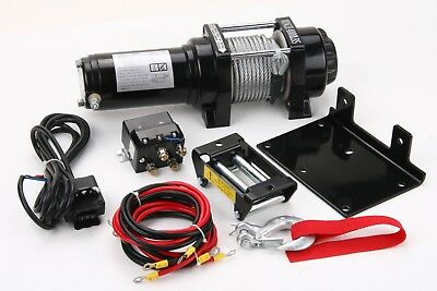 2000 LB  Winch Electric 12V Kit ATV UTV Snow Plow Off Road  New