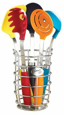 Fiesta 6-Piece Utensil Set with Crock , New, Free Shipping