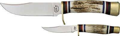"""Colt CT412 Hunter's Set Fixed Blade Knife Stainless 9 3/4"""" Overall"""