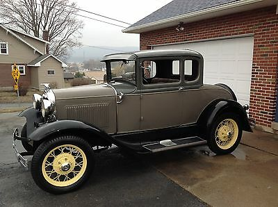 Ford : Model A 2 door 1930 ford model a coupe