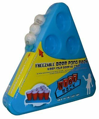 N-Ice Rack Frozen Beer Pong Drinking Party Game Alcohol