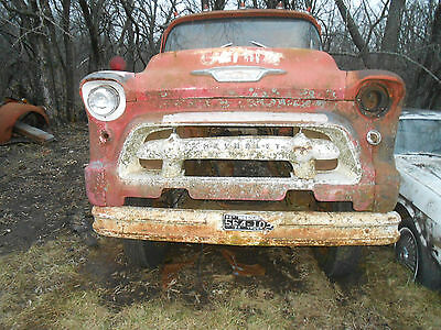 1955 Chevrolet COE HOT ROD Project Rat Body & Chassis 2Ton Truck Cab Over Engine