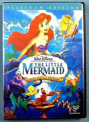 The Little Mermaid (DVD, 2006, 2-Disc Set, Platinum Edition)  NEW Factory Sealed