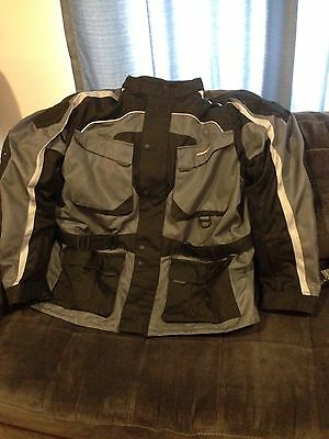 Firstgear Mens Torrent Motorcycle Jacket In Size 2XL