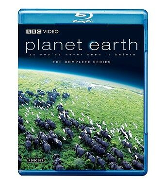 Planet Earth: The Complete BBC Series [Blu-ray], Free Shipping, New
