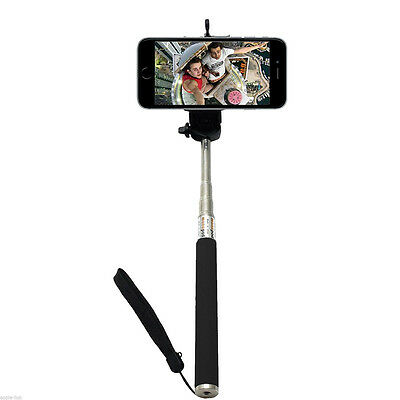 Extendable Monopod Selfie Stick Telescopic For iPhone Samsung Galaxy Sony Nokia
