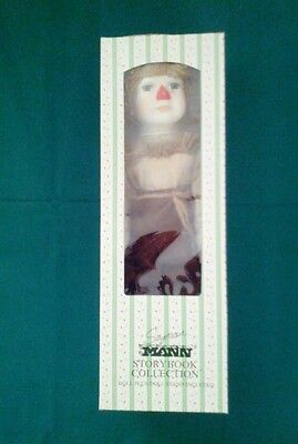 WIZARD of OZ. SCARECROW.  Porcelain Doll Seymour Mann FULL SIZE !! 16 in