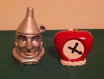 Wizard of Oz Tinman and Heart Salt and Pepper Shaker Set 1998 MIB