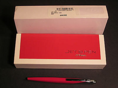 S.T. Dupont Jet 8, Red  Ball Pen~ Free S/H