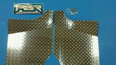 YAMAHA RHINO DIAMOND PLATE FLOOR BOARDS 2004 UP left and right and bolts