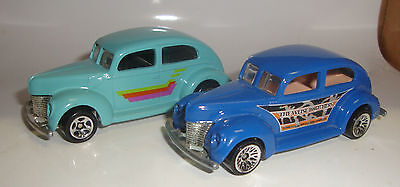 1997 Hot Wheels FAT FENDERED '40 Lot of 2