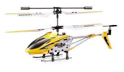 RC Remote Control Helicopter 3 Channel Gyro Smallest Light Beginners Mini Metal