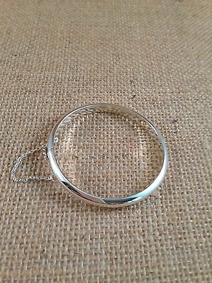 Sterling Silver Child's Bangle Bracelets - Great Baby Shower Gift - 15 Available
