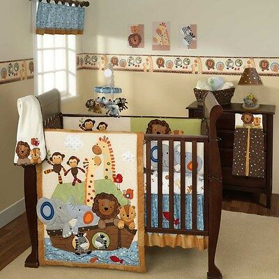 Lambs & Ivy S.S. Noah 5 Piece Bedding Set