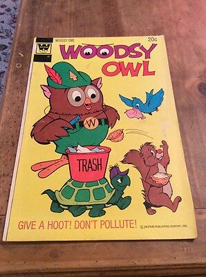 Woodsy Owl #1 First Issue Gold Key Comic 1973