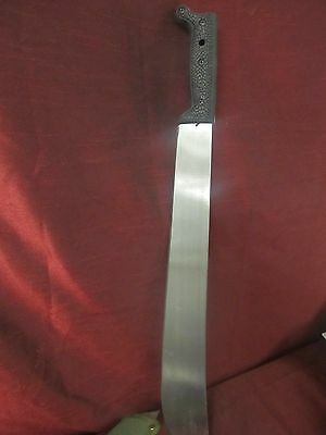 """**NEW 23"""" EAGLE MACHETE KNIFE WITH GREEN SHEATH-FACTORY SHARP & NOT A TOY!!"""