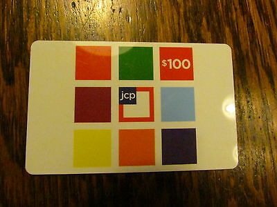 $100 JCPENNEY DEPTARTMENT STORE US-NATIONWIDE GIFT CARD (3 DAY AUCTION)