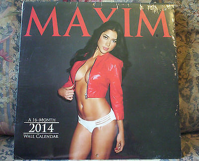 2014 MAXIM SWIMSUIT CALENDAR.....BRAND NEW AND FACTORY SEALED