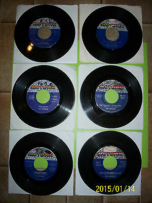 THE SUPREMES  45s  MOTOWN  -  LOT OF  7  -  JUKE BOX RECORDS