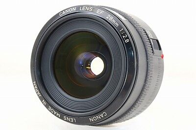 [NEAR MINT] Canon EF 28mm f/2.8 from Japan (0169)