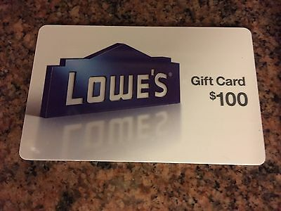 Lowe's Home Improvement $100 Gift Card