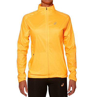 Asics Woven Jacket W Farbe: ORANGE (1216100550)
