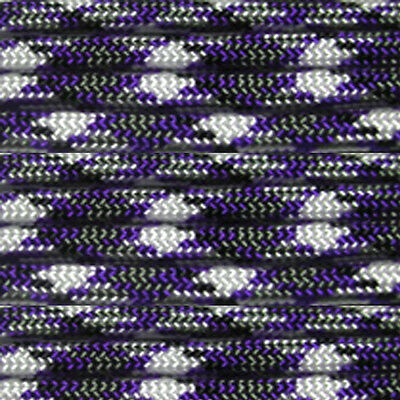 Purple Passion 550 Paracord Mil Spec Type III 7 strand parachute cord 100 ft