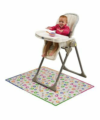 Mommys Helper Splat Mat Plastic Cover Baby High Chair Mess Floor Protector 79220