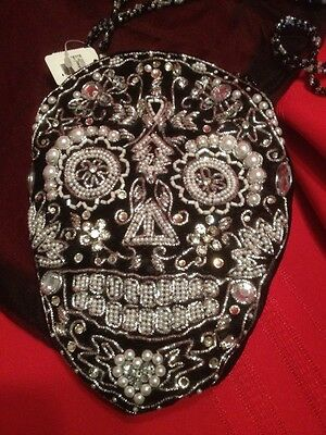 Katherine's Collection Day Of The Dead Beaded Purse--discontinued