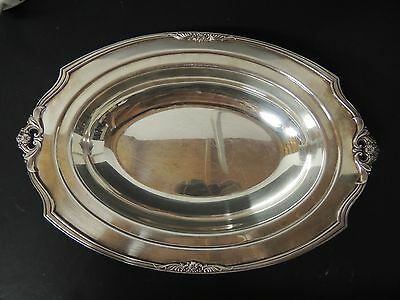 1847 Rogers Eternally Yours Gravy Underplate 1941 Silver Plate Bright and Shiny