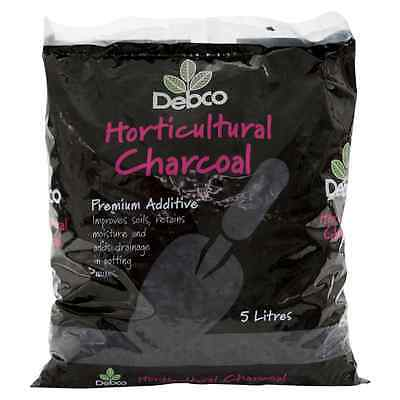 Debco Horticultural Charcoal Premium Additive 5L for soil and potting mix