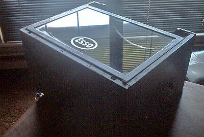 Esso Service Station Wood Counter Display Case