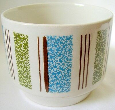 1960's Broadway Stylist Tableware by Midwinter of England Open Sugar Bowl