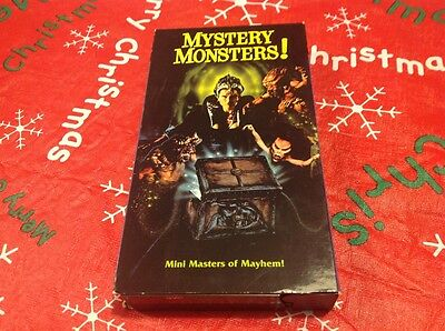 Mystery Monsters! (VHS 1997) Ashley Cafagna, Rare And Oop