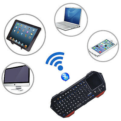 Mini Bluetooth Wireless Portable keyboard Touchpad Mouse for Android iOS Windows