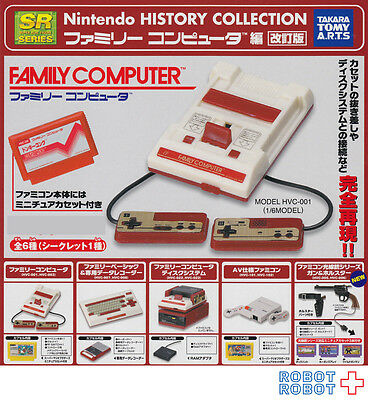 SR NINTENDO HISTORY COLLECTION Family Computer revised edition x6 pcs set figure