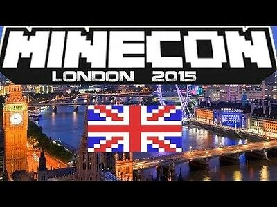 2 Minecon 2015 London Tickets Passes Mojang SOLD OUT!!!!