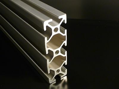 "TNUTZ - EX-1030 - Smooth 1"" x 3"" T-Slotted Aluminum Extrusion - 48"" long."