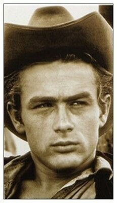JAMES DEAN fridge magnet - REDUCED TO CLEAR